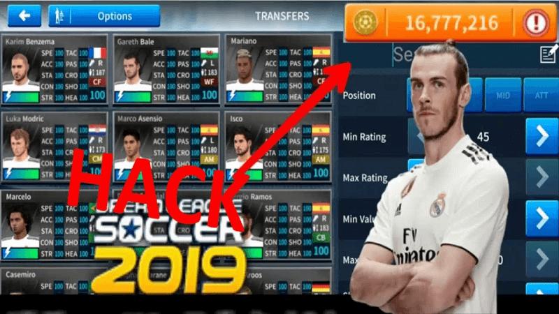 hack tiền dream league soccer