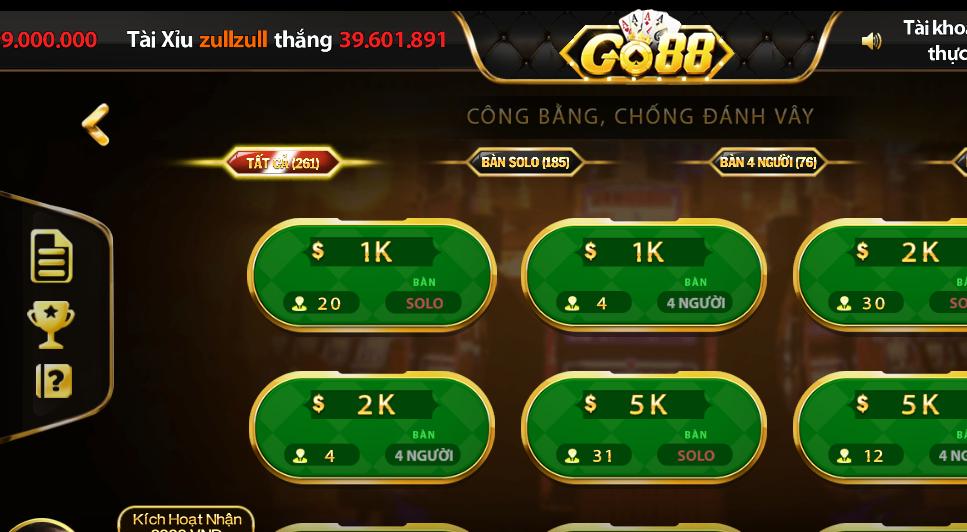 Tham gia Go88 đổi thưởng hãy chắc chắn mình hiểu được cách chơi