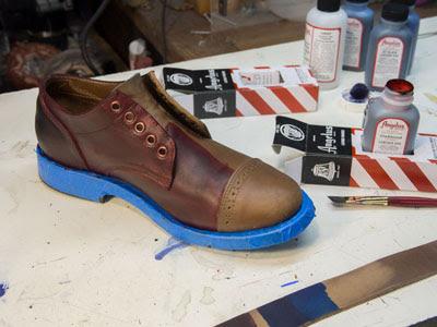 Cách chọn thuốc nhuộm cho giày da
